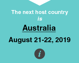 The next host country is New Zealand